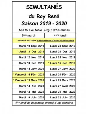 Roy rene 2019 2020