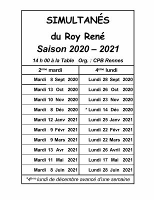 Roy René 2020-2021