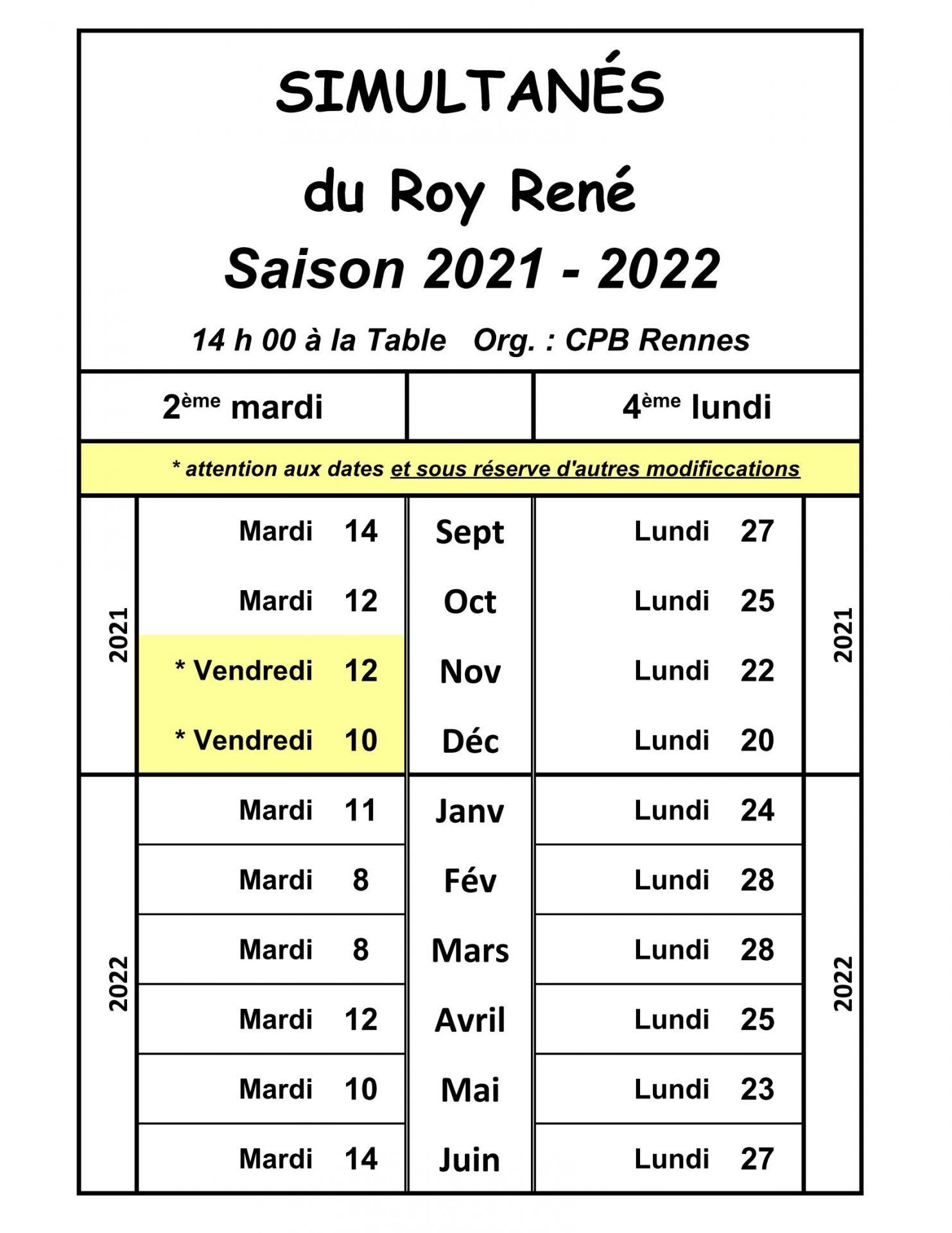 Roy René 2021-2022