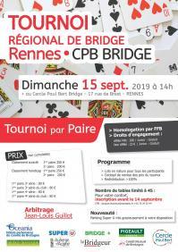 Tournoi régional cpb